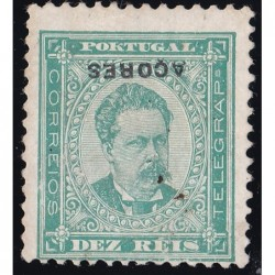 AÇORES - 1884-87 - D. Luis...