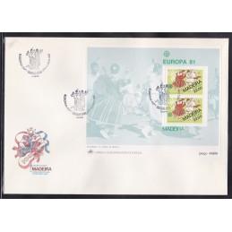 1981 - Europa Madeira