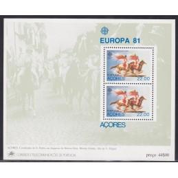 1981 - Europa - Açores