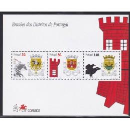 1997 - Brasões de Portugal...