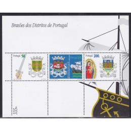 1998 - Brasões de Portugal...