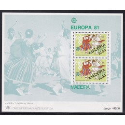 1981 - Europa - Madeira