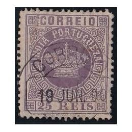 1880/81 - Coroa Novas cores