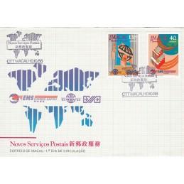 1988 - Novos Serviços Postais