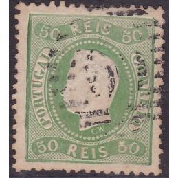 1867-70 D. Luís I - Fita...