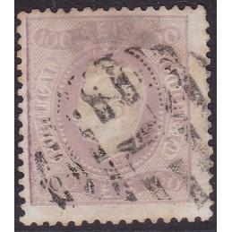 1870-76 D. Luís I - Fita curva