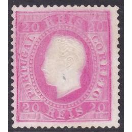 1885 D. Luís I, novas cores...