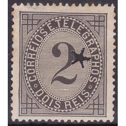 1884 - Taxa de Telegrama