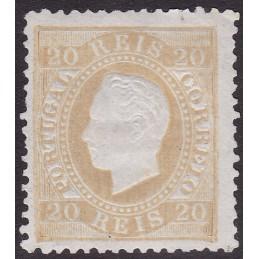 1870-76 D. Luís I, fita...