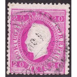 1884 D. Luís I, novas cores...