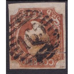 1856-58- D. Pedro V Cabelos...
