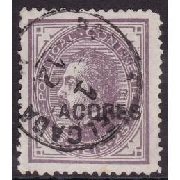 AÇORES - 1880/81 - D. Luís...