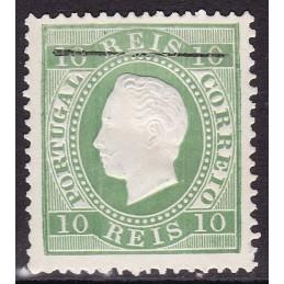 1879/80 - D. Luis I, Fita...