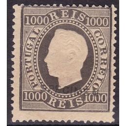 1884 - D. Luis I, Fita Direita
