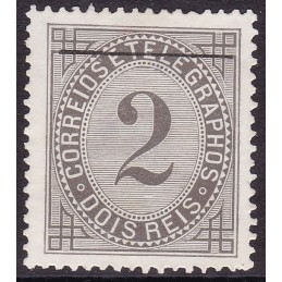 1884 - Taxa de Telegramas