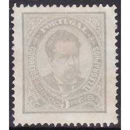 1882/83 - D. Luís I de Fente