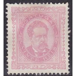 1884/87 - D. Luís I de Fente
