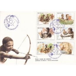 1995 - Povo Kung de Angola