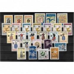 1959 - selos de 1946 a 1958
