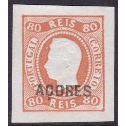 1868 - D. Luís - Fita Curva...