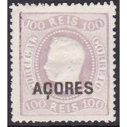 1868/70 - D. Luís - Fita Curva