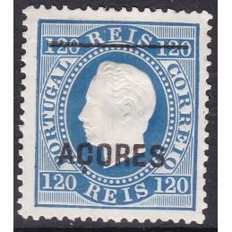 1871/76 - D. Luís - Fita...