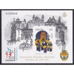 1993 - EXPOSIÇÃO FILATELIA...
