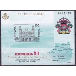 1994 - EXPOSIÇÃO FILATELIA...