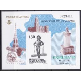 1995 - EXPOSIÇÃO FILATELIA...