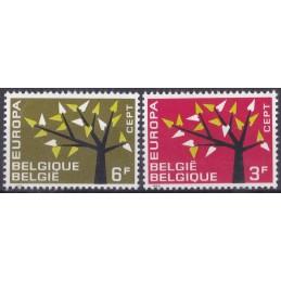 Europa - 1962 Bélgica