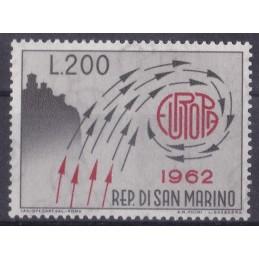 Europa - 1962 São Marino