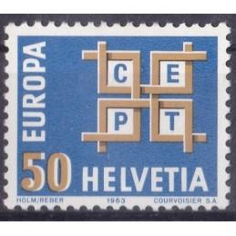 Europa - 1963 Suiça