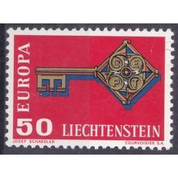 Europa - 1968 Liechtenstein