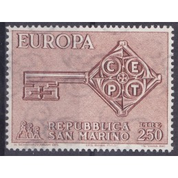 Europa - 1968 São Marino