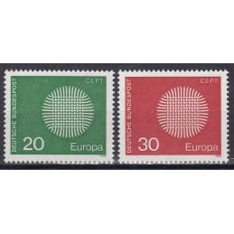 Europa - 1970 Alemanha