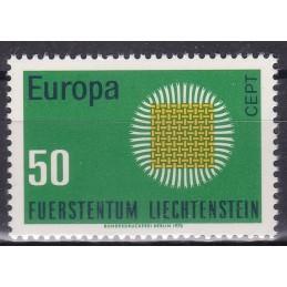 Europa - 1970 LIECHTENSTEIN