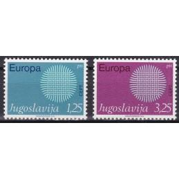 Europa - 1970 Jugoslávia