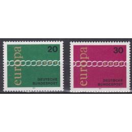 Europa - 1971 Alemanha
