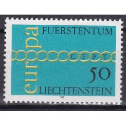 Europa - 1971 LIECHTENSTEIN