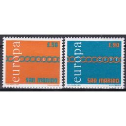Europa - 1971 São Marinho