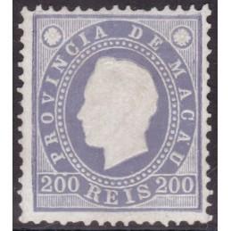1887 - D. Luís I Fita direita