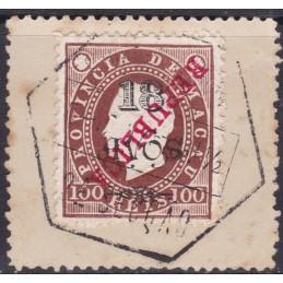 1913 -Tipo D. Luís I Com...