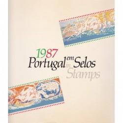 Portugal em Selos 1987
