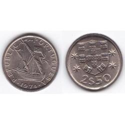 1974 - 2.50 Escudos