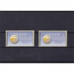 2002 - Símbolo do Euro -...