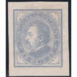 1880-81 D. Luis I de perfil...